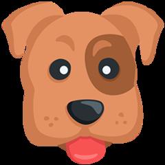 Dog Face facebook messenger emoji