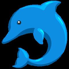Dolphin facebook messenger emoji
