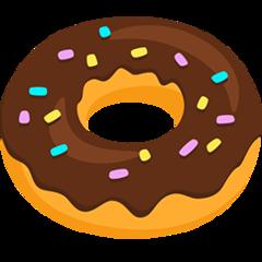 Doughnut facebook messenger emoji
