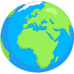 Earth Globe Europe-africa facebook messenger emoji