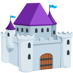 European Castle facebook messenger emoji
