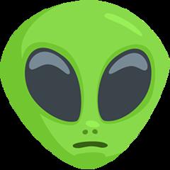 Extraterrestrial Alien facebook messenger emoji