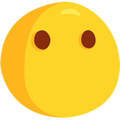 Face Without Mouth facebook messenger emoji