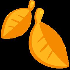 Fallen Leaf facebook messenger emoji