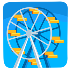 Ferris Wheel facebook messenger emoji