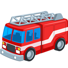 Fire Engine facebook messenger emoji