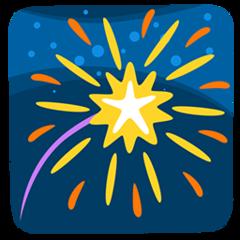 Fireworks facebook messenger emoji