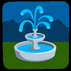 Fountain facebook messenger emoji