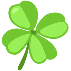 Four Leaf Clover facebook messenger emoji