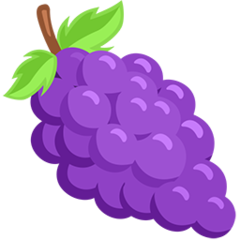 Grapes facebook messenger emoji