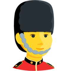 Guardsman facebook messenger emoji