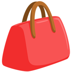 Handbag facebook messenger emoji