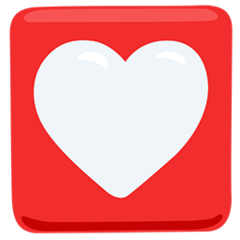 Heart Decoration facebook messenger emoji