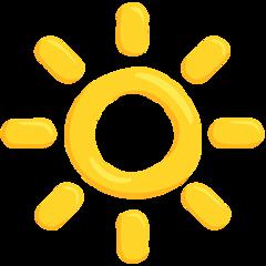 High Brightness Symbol facebook messenger emoji