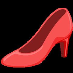 High-heeled Shoe facebook messenger emoji