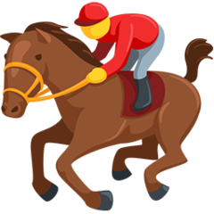Horse Racing facebook messenger emoji