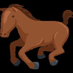 Horse facebook messenger emoji