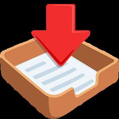 Inbox Tray facebook messenger emoji
