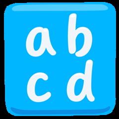Input Symbol For Latin Small Letters facebook messenger emoji