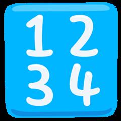 Input Symbol For Numbers facebook messenger emoji