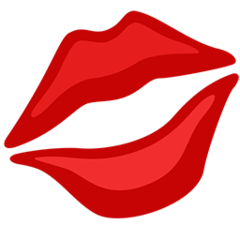 Kiss Mark facebook messenger emoji