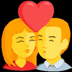 Kiss facebook messenger emoji