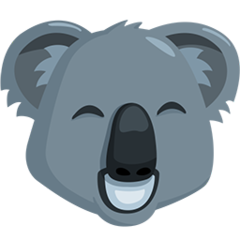 Koala facebook messenger emoji