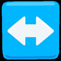 Left Right Arrow facebook messenger emoji