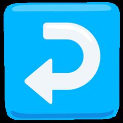 Leftwards Arrow With Hook facebook messenger emoji