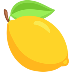 Lemon facebook messenger emoji