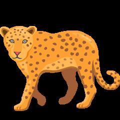 Leopard facebook messenger emoji