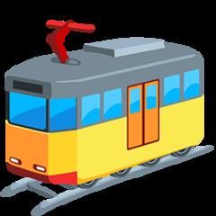 Light Rail facebook messenger emoji