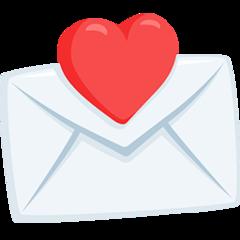 Love Letter facebook messenger emoji