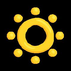 Low Brightness Symbol facebook messenger emoji