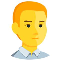 Man facebook messenger emoji