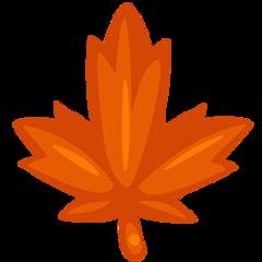 Maple Leaf facebook messenger emoji