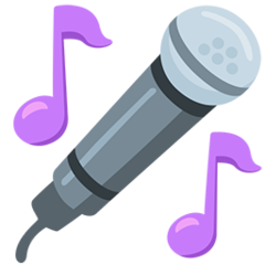 Microphone facebook messenger emoji