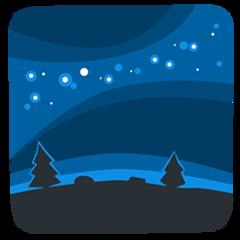 Milky Way facebook messenger emoji