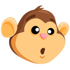 Monkey Face facebook messenger emoji