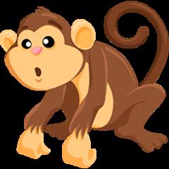 Monkey facebook messenger emoji