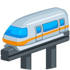 Monorail facebook messenger emoji