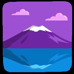 Mount Fuji facebook messenger emoji
