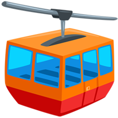 Mountain Cableway facebook messenger emoji