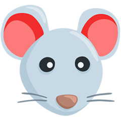 Mouse Face facebook messenger emoji