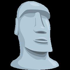 Moyai facebook messenger emoji