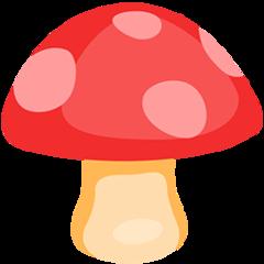 Mushroom facebook messenger emoji
