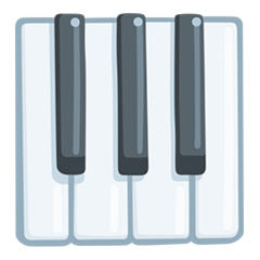 Musical Keyboard facebook messenger emoji
