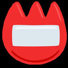 Name Badge facebook messenger emoji