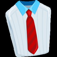 Necktie facebook messenger emoji
