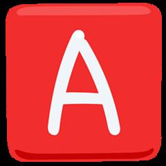 Negative Squared Latin Capital Letter A facebook messenger emoji